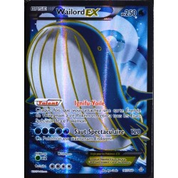 carte Pokémon 147/160 Wailord EX 250 PV FULL ART Série XY - Primo Choc NEUF FR