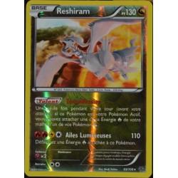 carte Pokémon 63/108 Reshiram 130 PV - SUPER RARE REVERSE XY 6 Ciel Rugissant NEUF FR