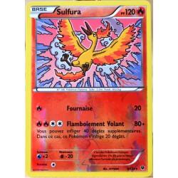 carte Pokémon 9/124 Sulfura 120 PV - REVERSE XY - Impact des Destins NEUF FR