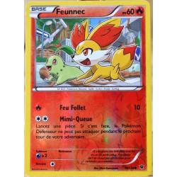 carte Pokémon 10/124 Feunnec 60 PV - REVERSE XY - Impact des Destins NEUF FR