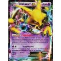 carte Pokémon 25/124 Alakazam EX 160 PV - ULTRA RARE XY - Impact des Destins NEUF FR
