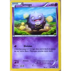 carte Pokémon 27/124 Smogo 60 PV XY - Impact des Destins NEUF FR