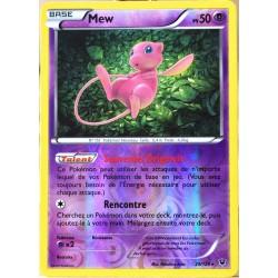 carte Pokémon 29/124 Mew 50 PV - HOLO REVERSE XY - Impact des Destins NEUF FR