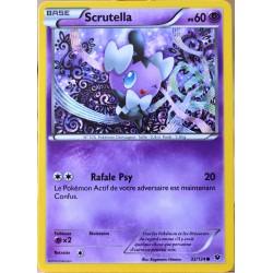carte Pokémon 32/124 Scrutella 60 PV XY - Impact des Destins NEUF FR