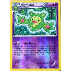 carte Pokémon 35/124 Symbios 90 PV - REVERSE XY - Impact des Destins NEUF FR