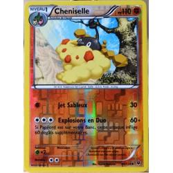 carte Pokémon 44/124 Cheniselle 110 PV - REVERSE XY - Impact des Destins NEUF FR