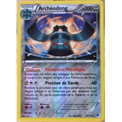 carte Pokémon 61/124 Archéodong 100 PV - REVERSE XY - Impact des Destins NEUF FR