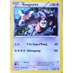 carte Pokémon 75/124 Kangourex 120 PV XY - Impact des Destins NEUF FR