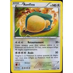 carte Pokémon 77/124 Ronflex 140 PV XY - Impact des Destins NEUF FR