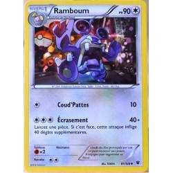 carte Pokémon 81/124 Ramboum 90 PV XY - Impact des Destins NEUF FR