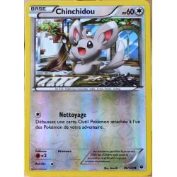 carte Pokémon 86/124 Chinchidou 60 PV - REVERSE XY - Impact des Destins NEUF FR