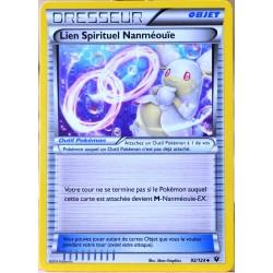 carte Pokémon 92/124 Lien Spirituel Nanméouïe XY - Impact des Destins NEUF FR