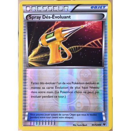 carte Pokémon 95/124 Spray Dés-Evoluant REVERSE XY - Impact des Destins NEUF FR