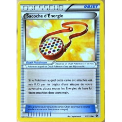 carte Pokémon 97/124 Sacoche d'Energie XY - Impact des Destins NEUF FR