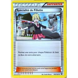 carte Pokémon 103/124 Spécialité de Fillette XY - Impact des Destins NEUF FR