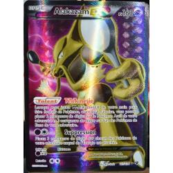 carte Pokémon 117/124 Alakazam EX 160 PV - FULL ART XY - Impact des Destins NEUF FR