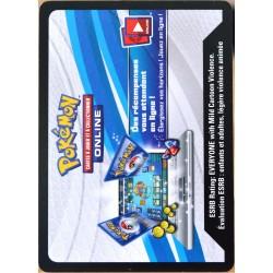 JCC Pokémon Collection Bleu & Rouge - Dracaufeu-EX Codes (NEUF non utilisé)