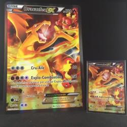 carte Pokémon XY121 Dracaufeu EX JUMBO 180 PV - FULL ART Promo NEUF FR
