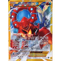 carte Pokémon 115/114 Volcanion EX 180 PV - SECRETE XY - Offensive Vapeur NEUF FR