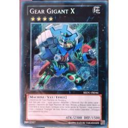 carte YU-GI-OH REDU-FR046 Gear Gigant X NEUF FR