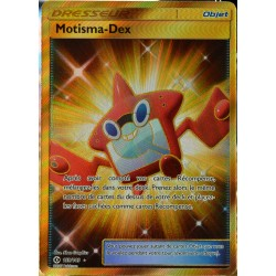 carte Pokémon 159/149 Motisma-Dex - FULL ART SECRETE SM1 - Soleil et Lune NEUF FR