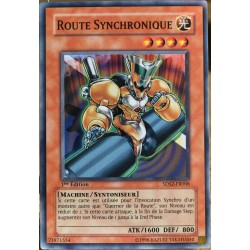 carte YU-GI-OH 5DS2-FR006 Route Synchronique NEUF FR