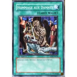 carte YU-GI-OH 5DS2-FR024 Hommage Aux Damnés NEUF FR