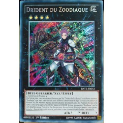 carte YU-GI-OH RATE-FR053 Drident Du Zoodiaque NEUF FR