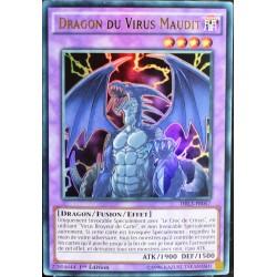carte YU-GI-OH DRL3-FR057 Dragon du Virus Maudit NEUF FR