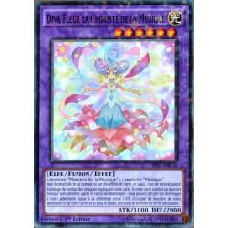 carte YU-GI-OH SP17-FR036-ST Diva Fleur La Choriste De La Musique NEUF FR