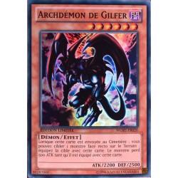 carte YU-GI-OH WGRT-FR020 Archdémon De Gilfer NEUF FR