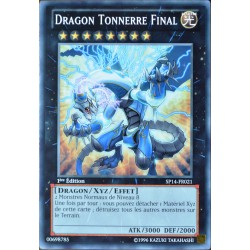 carte YU-GI-OH SP14-FR021 Dragon Tonnerre Final NEUF FR
