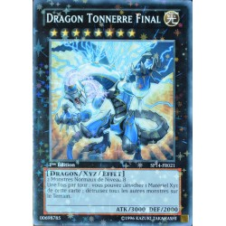 carte YU-GI-OH SP14-FR021-ST Dragon Tonnerre Final NEUF FR