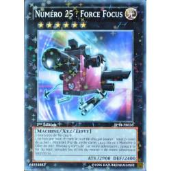 carte YU-GI-OH SP14-FR026-ST Numéro 25 : Force Focus NEUF FR