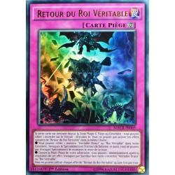 carte YU-GI-OH MACR-FR069 Retour Du Roi Véritable 1ED/1ST NEUF FR