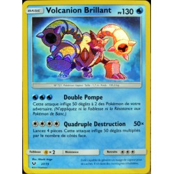 carte Pokémon 27/73 Volcanion Brillant SL3.5 Légendes Brillantes NEUF FR