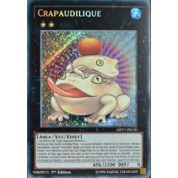 carte YU-GI-OH MP17-FR150 Crapaudilique NEUF FR