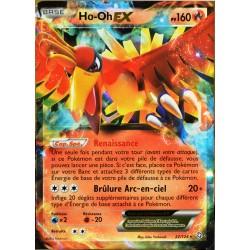 carte Pokémon 22/124 Ho-Oh EX 160 PV Deck Combat Légendaire NEUF FR