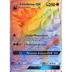 carte Pokémon 147/145 Félinferno GX