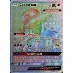 carte Pokémon 114/111 Zéroïd GX  180 PV - SECRETE