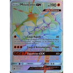 carte Pokémon 115/111 Mouscoto GX  190 PV - SECRETE