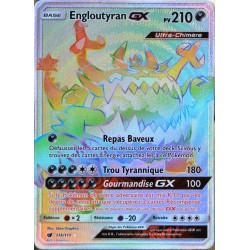 carte Pokémon 116/111 Engloutyran GX  210 PV - SECRETE