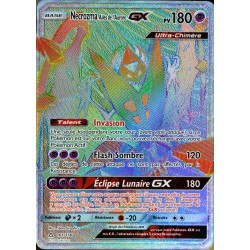 carte Pokémon 161/156 Necrozma Ailes de l'Aurore GX