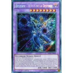 carte Yu-Gi-Oh DESO-FR004 Dystopie - Héros De La Destinée
