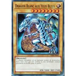 carte YU-GI-OH YSKR-FR001 Dragon Blanc Aux Yeux Bleus NEUF FR