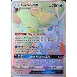 carte Pokémon 159/156 Givrali GX SL5 - Soleil et Lune - Ultra Prisme NEUF FR