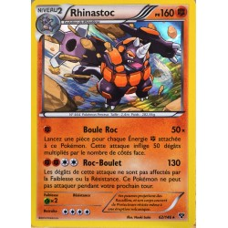 carte Pokémon 62/146 Rhinastoc 160 PV XY NEUF FR