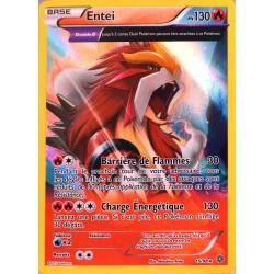 carte Pokémon 15/98 Entei 130 PV - HOLO  NEUF FR