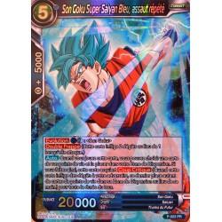 carte Dragon Ball Super P-022-PR Son Goku Super Sayan Bleu, assaut répété NEUF FR