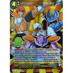 carte Dragon Ball Super P-024-PR Liens puissants du Commando Ginyu NEUF FR